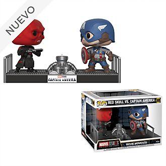 Figuras de vinilo Red Skull contra Capitán América, Funko Pop!