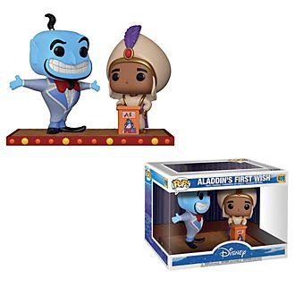 Funko Figurine Aladdin et le Génie Pop!, scène du premier souhait