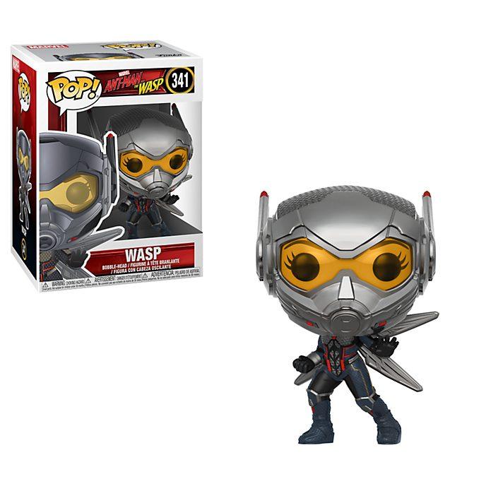 Funko Figurine La Guêpe Pop! en vinyle à tête oscillante, Ant-Man et la Guêpe