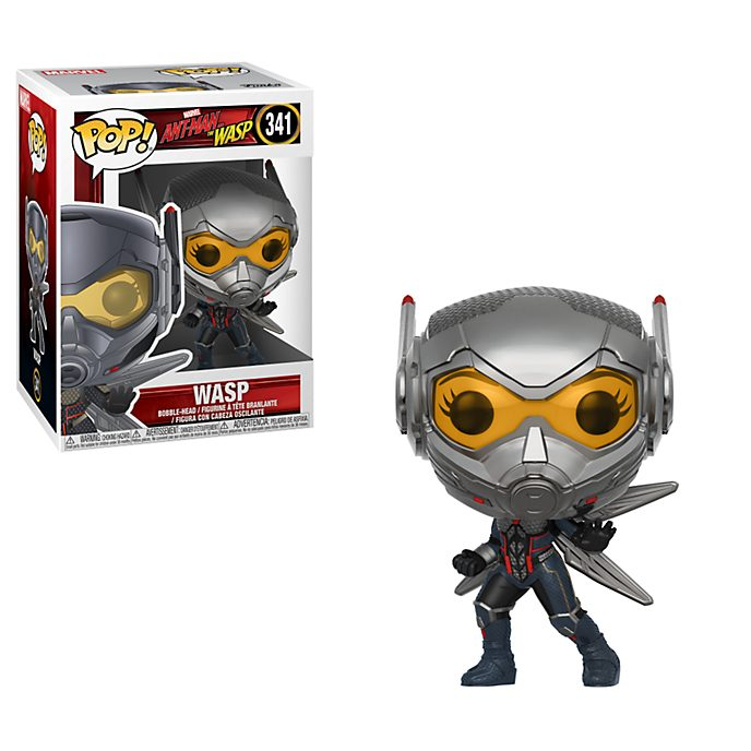 Funko Pop! Figura de vinilo con cabeza oscilante de Ant-Man y la Avispa