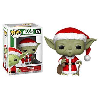 Personaggio in vinile Yoda natalizio serie Pop! di Funko