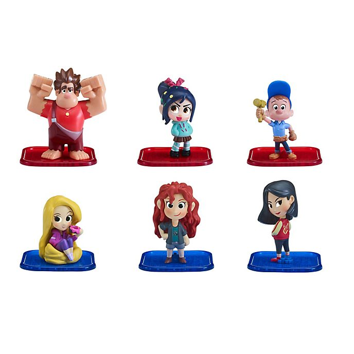 Disney Store Wreck-It Ralph 2 Power Pac, Set of 6