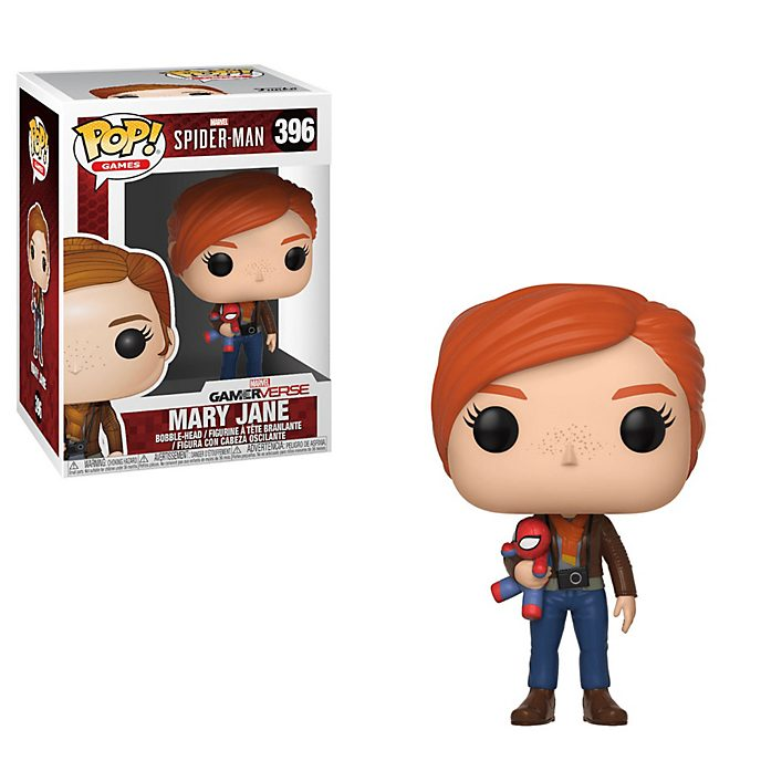 Personaggio in vinile Mary Jane serie Pop! di Funko, Spider-Man