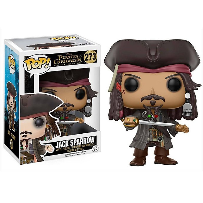 Funko Figurine Jack Sparrow Pop! en vinyle, Pirates des Caraibes