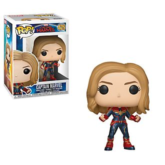 Personaggio in vinile Capitan Marvel serie Pop! di Funko