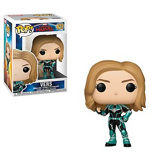 Funko Vers Pop! Vinyl Figure, Captain Marvel