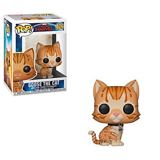 Personaggio in vinile Gatto Goose serie Pop! di Funko, Capitan Marvel