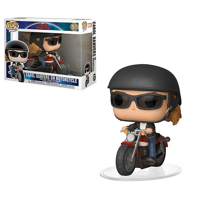 Figura Pop! Carol Danvers en moto, Funko