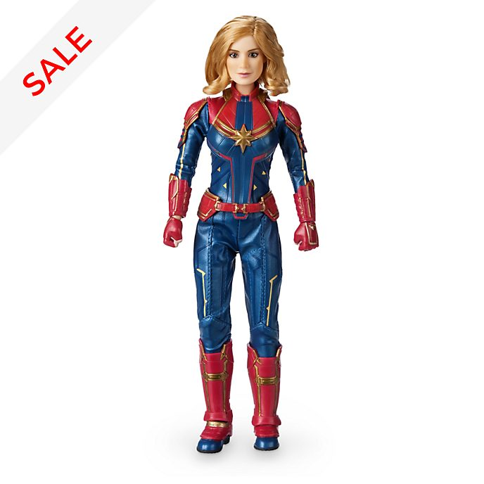 Disney Store - Captain Marvel - Puppe in Sonderedition