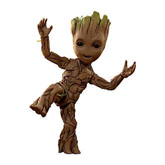Personaggio in edizione speciale a grandezza naturale Hot Toys Groot Guardiani della Galassia Vol. 2