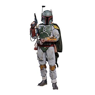 Hot Toys Boba Fett Deluxe Collectible Figure, Star Wars: The Empire Strikes Back