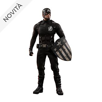 Personaggio da collezione concept art Hot Toys Capitan America