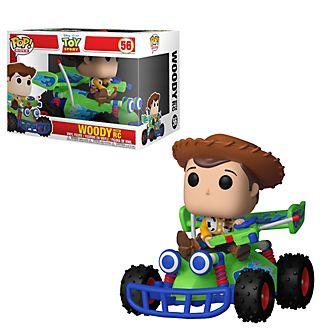 Personaggio in vinile Woody con R.C. serie Pop! di Funko, Toy Story