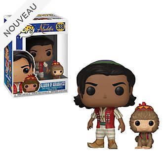 Funko Figurine Aladdin d'Agrabah avec Abu Pop! en vinyle
