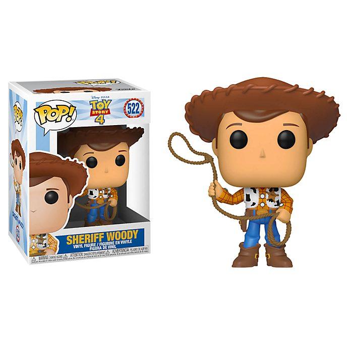 Figura de vinilo Pop! del Sheriff Woody, Toy Story4, Funko