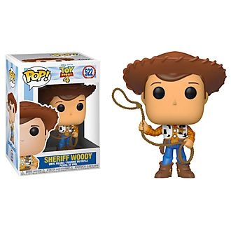 Personaggio in vinile Sceriffo Woody serie Pop! di Funko, Toy Story 4