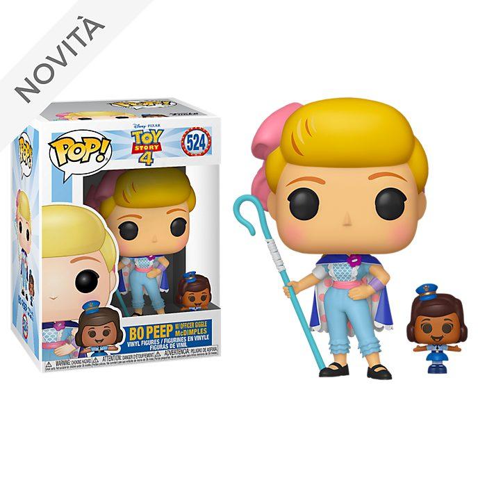 Personaggio in vinile Bo Peep con agente Giggle McDimples serie Pop! di Funko