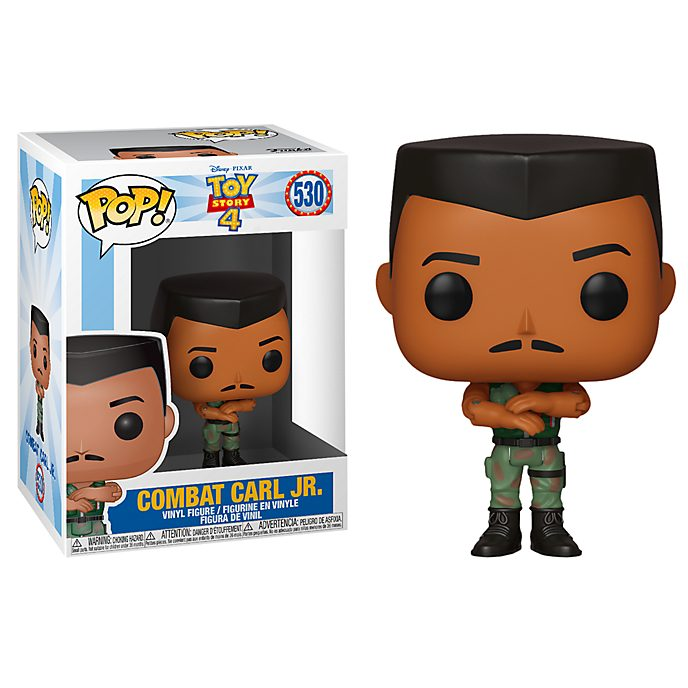 Personaggio in vinile Combat Carl Jr. serie Pop! di Funko, Toy Story 4