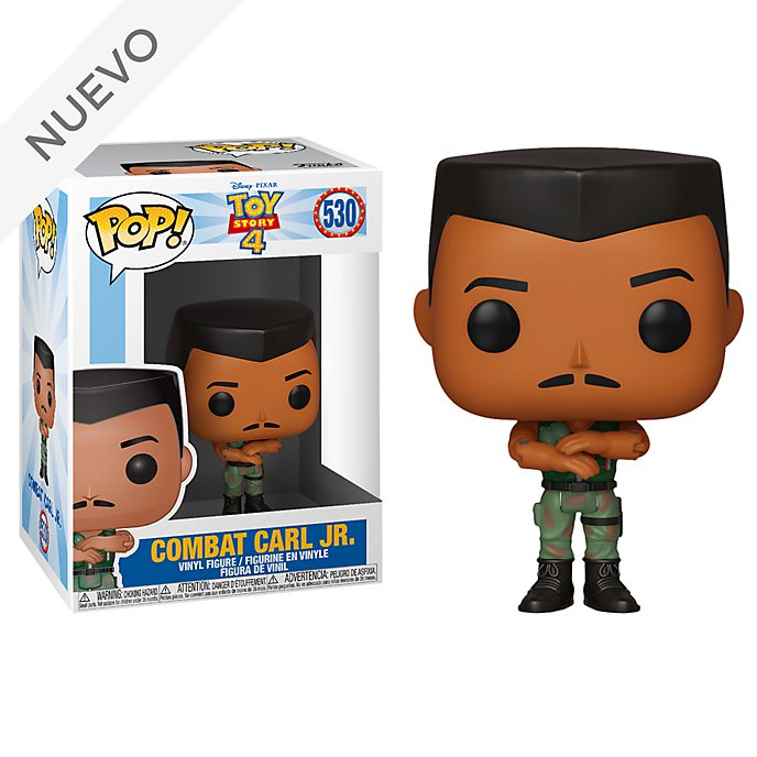 Figura de vinilo Pop! Combat Carl Junior, Toy Story 4, Funko