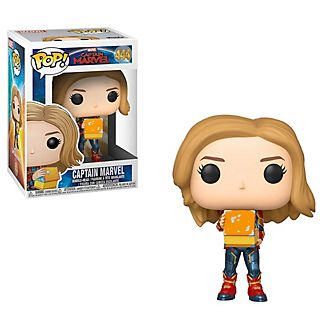 Funko Captain Marvel with Lunchbox Pop! Vinyl Figure