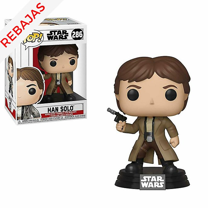 Figura de vinilo Han Solo, Funko Pop!