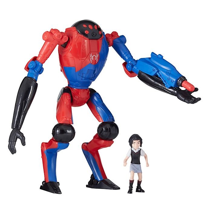 Hasbro Figurines SP//Dr et Peni Parker Deluxe, Spider-Man: New Generation