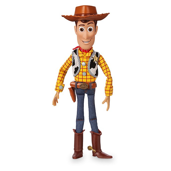 Disney Store Figurine Woody articulée parlante