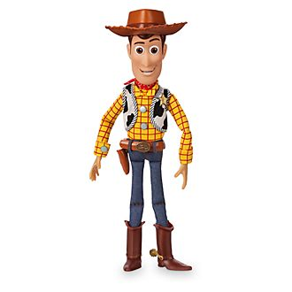 Disney Store Woody Talking Action Figure