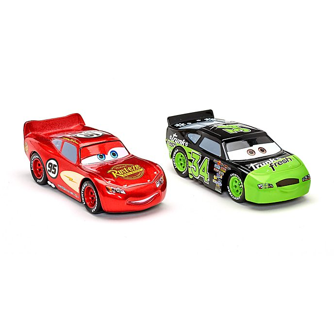 Disney Store Lightning McQueen and Dirkson D'Agogstino Die-Cast Twin Pack
