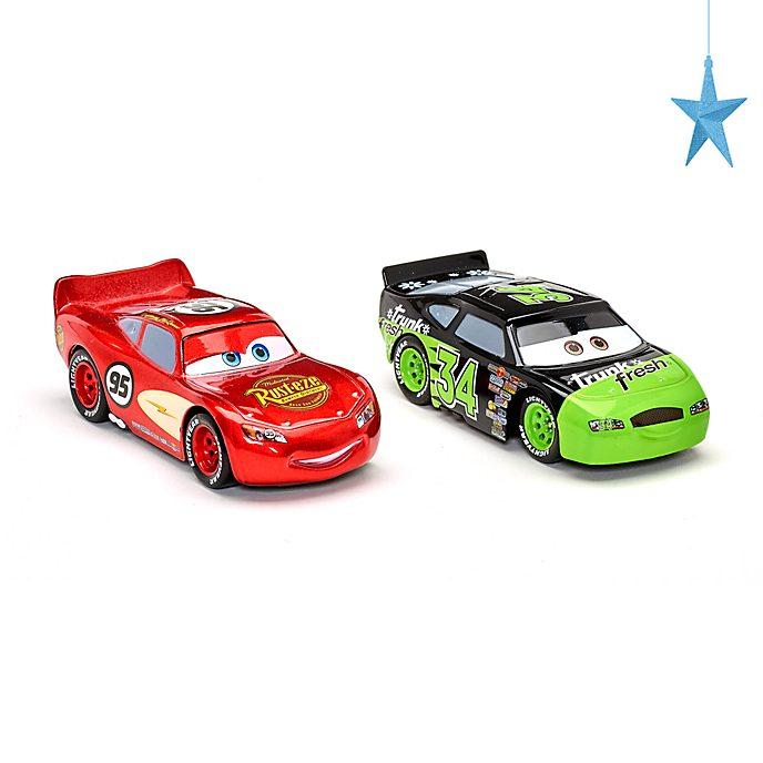 Disney Store Pack de 2voitures miniatures Flash McQueen et Dirkson D'Agostino