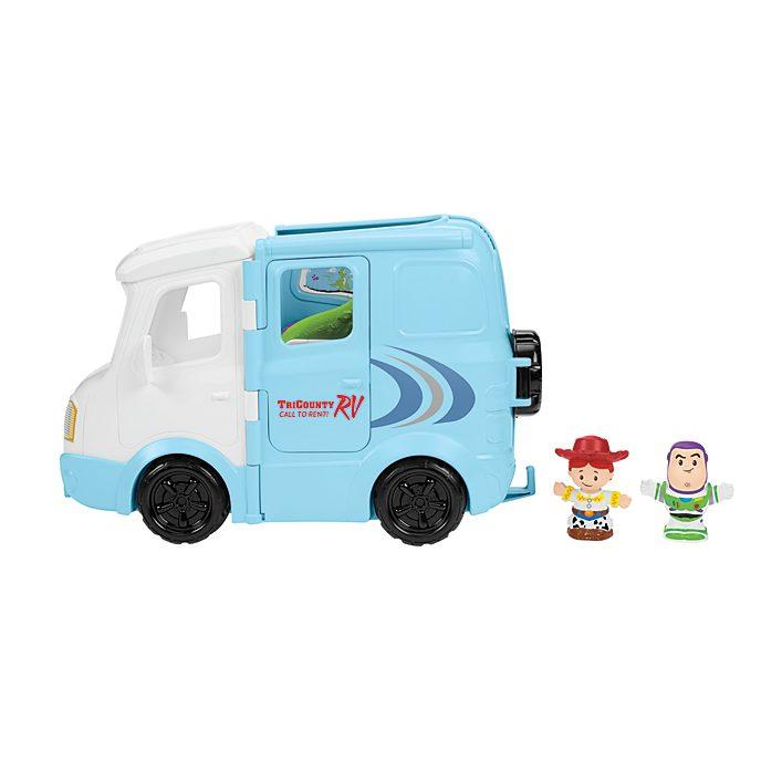 Set da gioco avventura in campeggio Fisher-Price Little People Jessie Toy Story 4