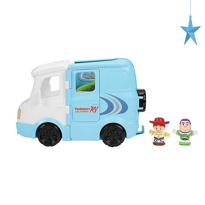 Fisher-Price Coffret Jessie's Campground Adventure, collection Little People, Toy Story 4
