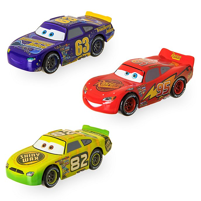 Disney Store - Rennwagen der älteren Generation - 3Die Cast-Autos zum Zurückziehen