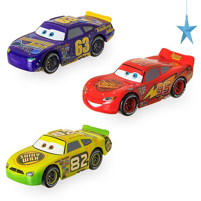 Confezione di 3 macchinine a retrocarica Piloti di vecchia generazione Disney Store