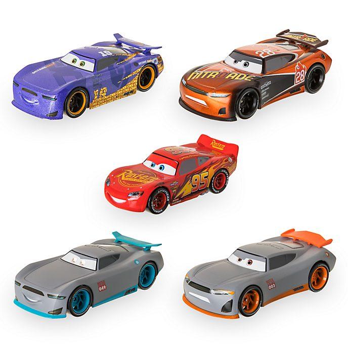 Disney Store New-Gen Racers Pullback Die Cast 5 Pack