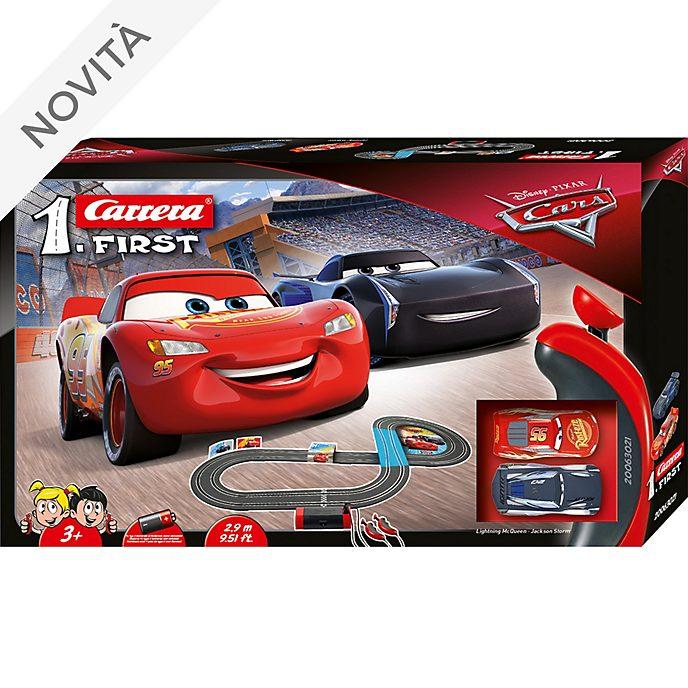 Set da gioco macchinine da corsa Disney Pixar Cars Carrera First