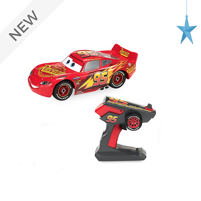 Disney Store Lightning McQueen Build To Race Remote Control Car