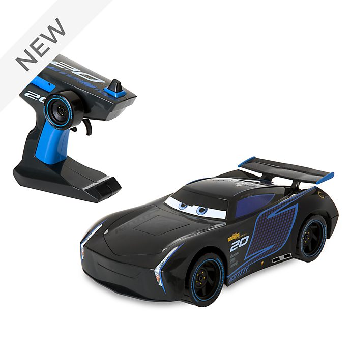 Disney Store Jackson Storm Build To Race Remote Control Car