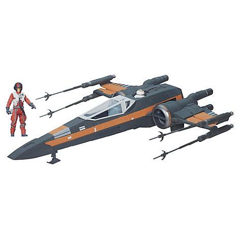 Star Wars: Das Erwachen der Macht - X-Wing von Poe Dameron Fahrzeug (ca. 9,5 cm)