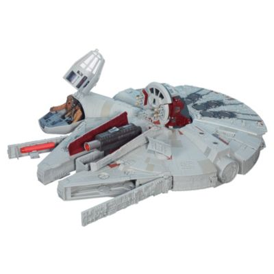Star Wars The Force Awakens Battle Action Millennium Falcon