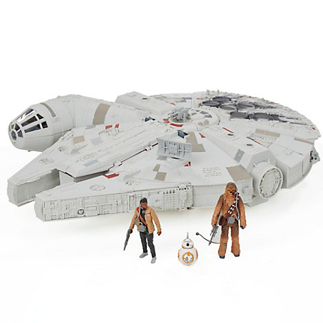 Star Wars: The Force Awakens Battle Action Millennium Falcon