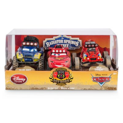 Macchinine Radiator Springs 500½ di Disney Pixar Cars, set di 3