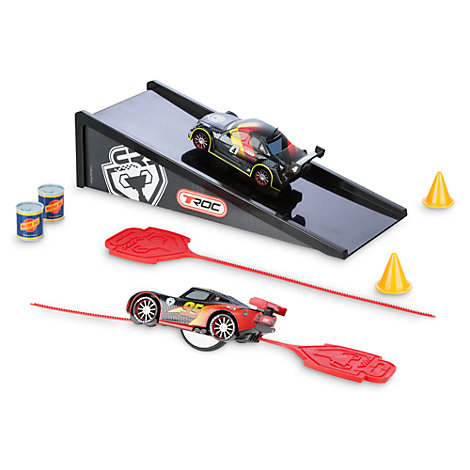 Disney Pixar Cars - McQueen und Max Rip N' Release Stunt-Set