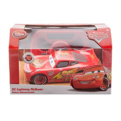 voiture t l command e flash mcqueen disney pixar cars. Black Bedroom Furniture Sets. Home Design Ideas