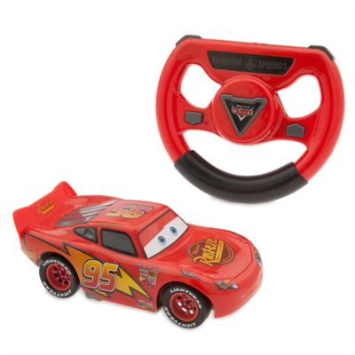 Automobilina con telecomando Saetta McQueen di Disney Pixar Cars