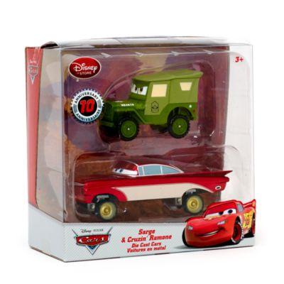 Voitures miniatures Le Sergent et Cruzin' Ramone Disney Pixar Cars