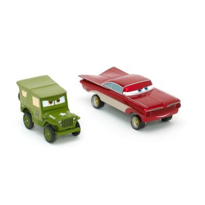 Disney Pixar Cars Sarge and Cruzin' Ramone Die-Casts