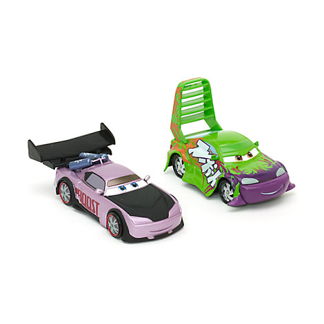 Disney Pixar Cars Wingo and Boost Die-Casts