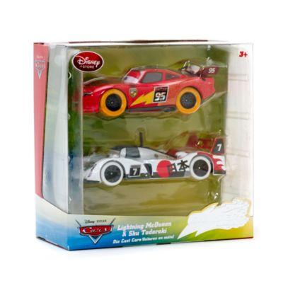 Macchinine Disney Pixar Cars, Saetta McQueen e Shu Todoroki
