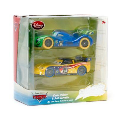 Vehículos a escala Carla y Jeff Die, Disney Pixar Cars